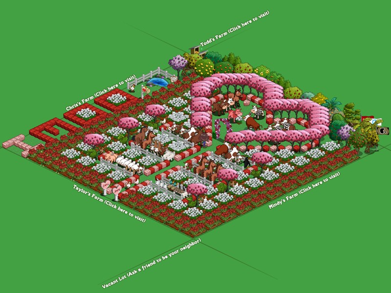 farmville valentine's day guide