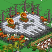 Farmville Pic of the Day: Pirahna Skull
