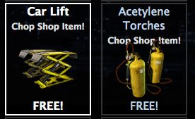 mafia wars chop shop giftables