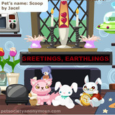 How to update LED Tickers in Pet Society