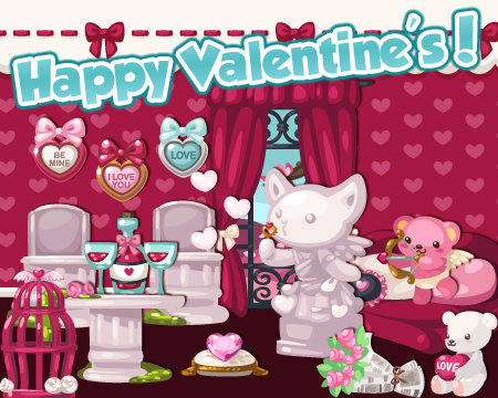 pet society valentine's day releases