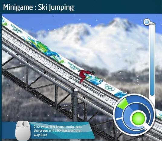 vancouver 2010 ski jump on facebook