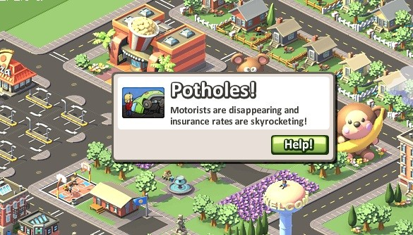 social city cheats and tips -- watch for potholes!