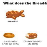 Is the Breadfish in Pet Society on a Low-Carb Diet?
