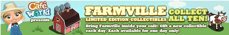 cafe world introduces farmville collectibles