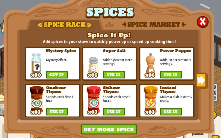cafe world spices everything you need to know