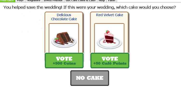 which would you use chocolate or red velvet for a wedding cake?
