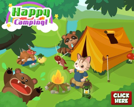 Country Story Happy Camping