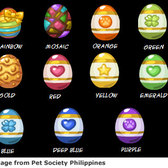 Hideeni's Easter Eggs in Pet Society