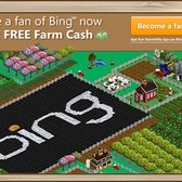 Microsoft Bing's Farmville ad campaign up for award