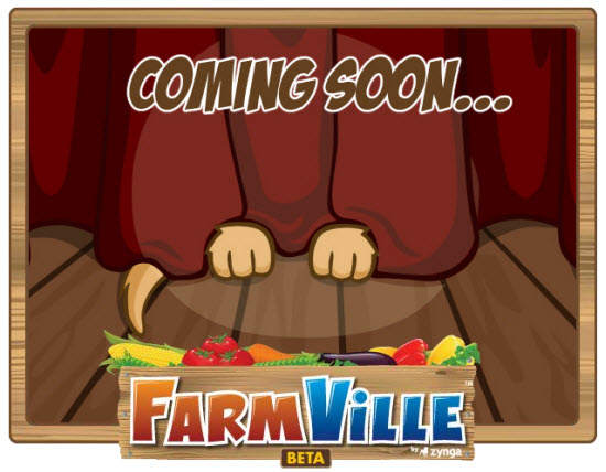 farmville coming soon