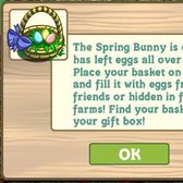FarmVille Spring Basket and Easter eggs arrive on farms everywhere