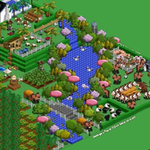 Farmville Pic of the Day: I wish I had a river...