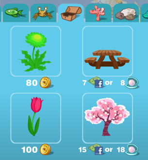 happy aquarium spring items