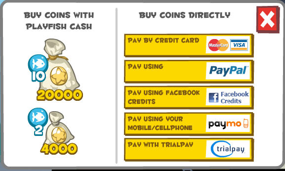 hotel city playfish coins