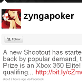 Zynga's Texas Hold'em offers Xbox 360 Elite as poker grand prize