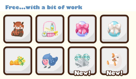 Pet Society Gifts