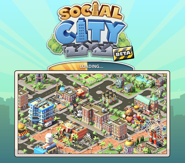 social city on facebook