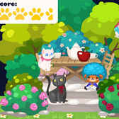 Pet Society Review: Garden Tea Terrace