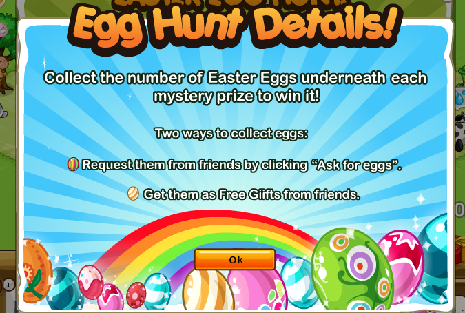 SPP Ranch Easter Egg Hunt Details Two ways to collect eggs