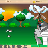 BarnVille Massacre parody game: It's like FarmVille .... with guns
