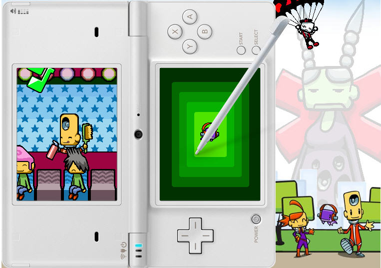 Nintendo DS game Beat City on Facebook