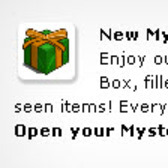 FarmVille Green & Gold Mystery Box appears, then disappears