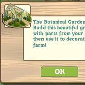 FarmVille Botanical Garden blooms in the in-game Market