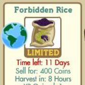FarmVille Earth Day: Forbidden Rice crop appears in market for limited time