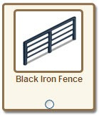 farmville back iron fence