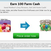 FarmVille partners with Pro Flowers for Mother's Day promotion