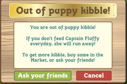 puppy kibble ask friends