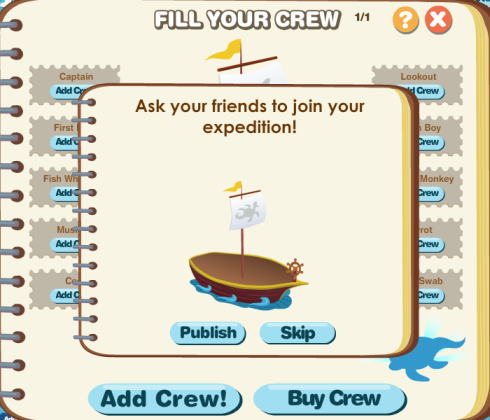 Fill Your Crew: Buy or Add