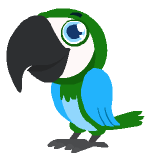 happy pets earth day parrot