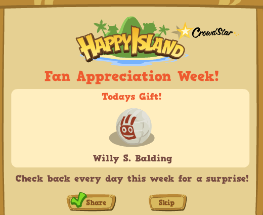 Happy Island Fan Appreciation Week Day 4