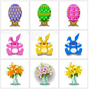 Happy Pets Easter Basket items