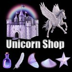 Mafia Wars Unicorn Shop Logo