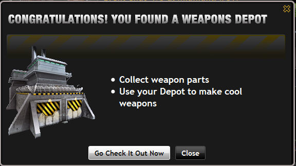 farmville weapons depot