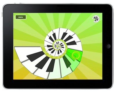 Magic Piano on iPad