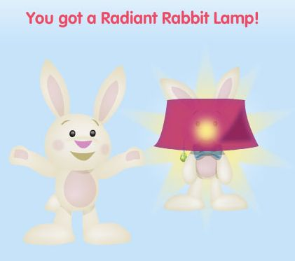 Radiant Rabbit Lamp