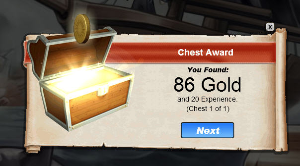 treasure quest gold