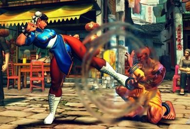 street fighter on facebook? maybe