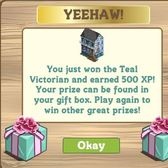 FarmVille 5/4 Teal &amp; Pink Mystery Box: Find out what's inside *spoiler*