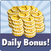 YoVille Daily Bonus: Earn coins for logging in
