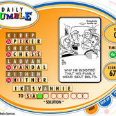 Games.com Game of the Day: Daily Jumble