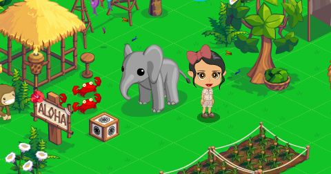 Treasure Isle elephant