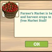 FarmVille Farmer's Market now available for everyone