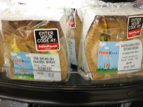 farmville seven eleven sandwiches