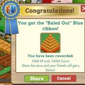 FarmVille's new 'Baled Out' ribbons -- the easiest achievement yet?