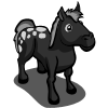 farmville black horse